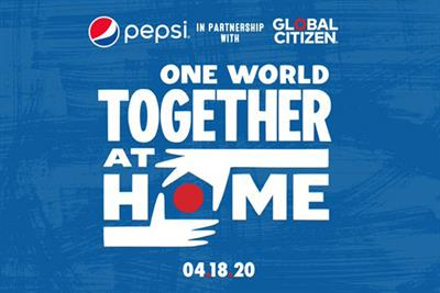 Pepsi partners Global Citizen and Lady Gaga for concert