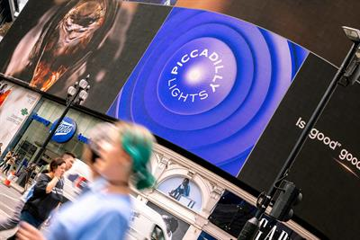 Landsec reveals new brand identity for Piccadilly Lights
