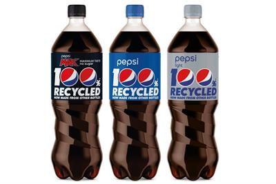 Pepsi Max launches recycled bottle campaign