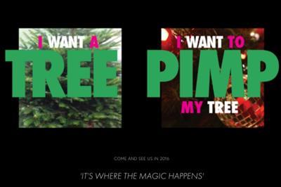 Pimp my Tree launches Shoreditch pop-up