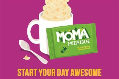 Moma launches campaign for gluten free porridge