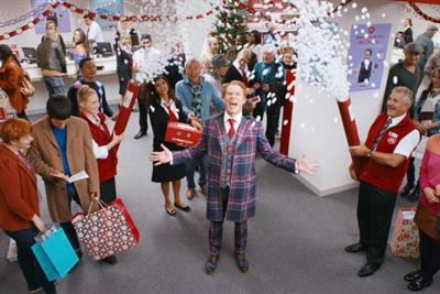 Post Office returns to Christmas TV with ad featuring 'Peep Show' star Robert Webb