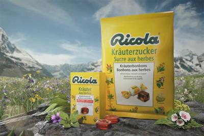 Ricola appoints Publicis to global creative and digital accounts