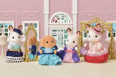 Toy brand Sylvanian Families creates world's smallest fashion show