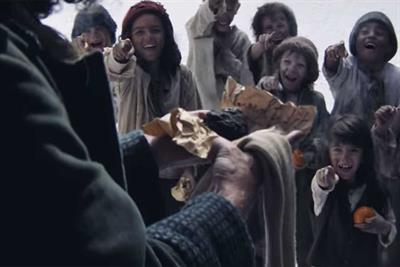 What do this year's Christmas ads say about the national mood?
