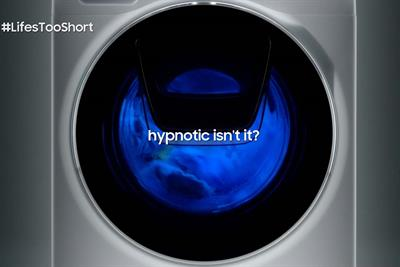 Samsung to show unbroken three-minute shot of a washing machine cycle during Gogglebox