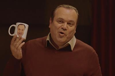 Shaun Williamson stars in Christmas ad for Currys PC World