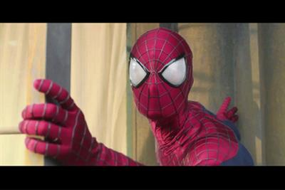 Evian's next ad to feature baby Spider-Man