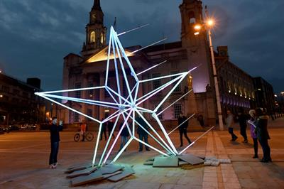 In pictures: TransPennine Express' giant North Star visits Leeds