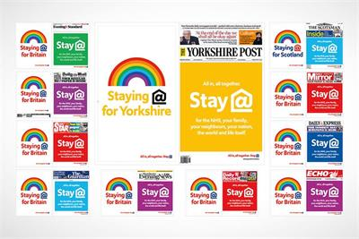 How the 'All together' campaign went from pitch to page in seven days