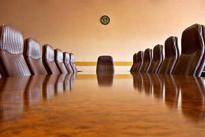 I'll take a seat at the top table, but I'm no chair