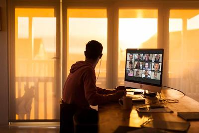 Your (video call) background says a lot about you
