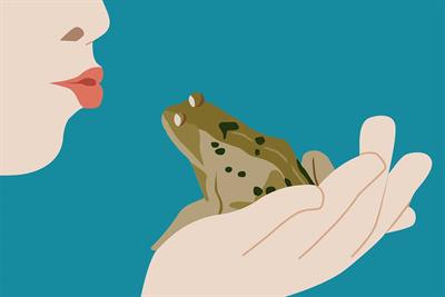 Frogs don't always turn into princes