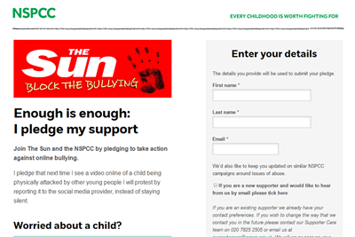 The Sun teams up with NSPCC to tackle online videos of bullying