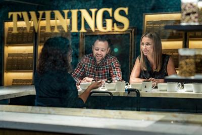 Twinings opens interactive concept store