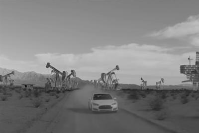 Tesla taps fans' creativity for surreal 'Not a dream' ad
