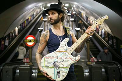 TfL partners with Fender for event programme