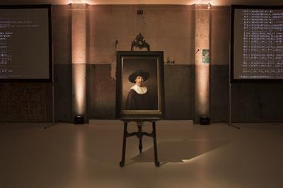 In pictures: ING and Microsoft unveil 'The Next Rembrandt' in Amsterdam