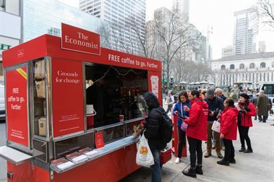 The Economist unveils #FeedingTheFuture campaign in New York