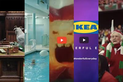 Saatchi's Rose on the 5 best TV ads of the moment