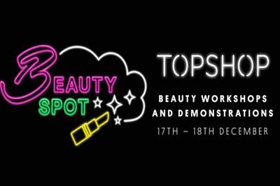 Topshop to host beauty workshops