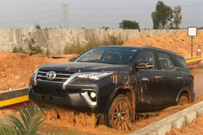 Event TV: Toyota stages 'Fortuner Experiential Drive Camp' in India