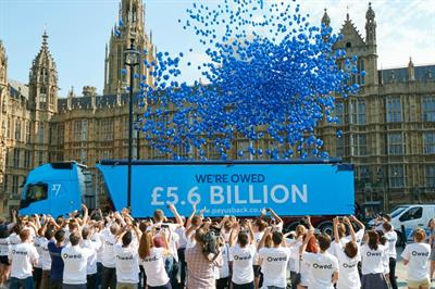 TransferWise targets hidden bank fees with protest stunt outside Westminster
