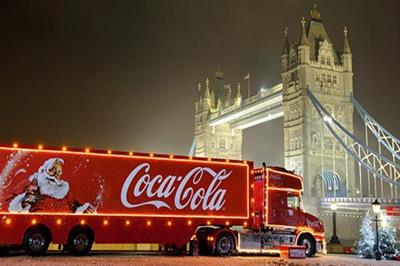 Coca-Cola reveals which UK cities will get a visit from the Christmas truck