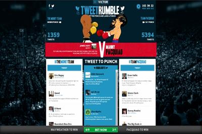 Betvictor selects VCCP for TweetRumble campaign