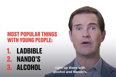LadBible Group taps Jimmy Carr to front B2B campaign for new video ad product