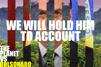 'The planet vs Bolsonaro': behind the campaign suing Brazil's president over Amazon fires