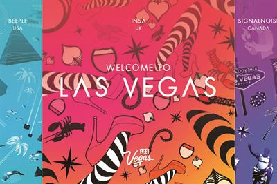 Las Vegas tourism board creates VR experience with graffiti artist Insa