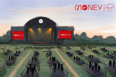 Virgin Money opens socially distanced outdoor music arena in Newcastle