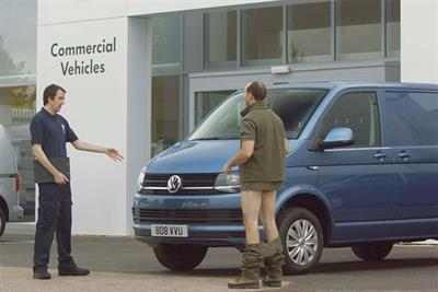Volkswagen Commercial Vehicles hires BBH after pitch