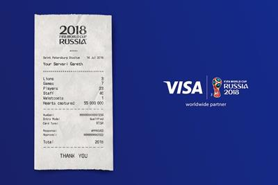 Turkey of the week: Transaction declined on Visa's World Cup receipt ad