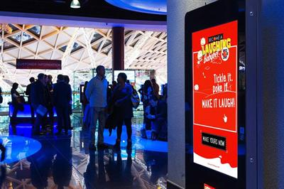 Babybel activates laughing experiential campaign