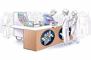 Jelly Belly partners with Bar on a Bike concept