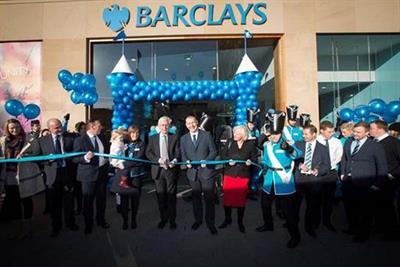 In pictures: Barclays trophy stunt in Edinburgh
