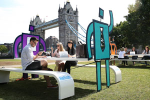 Relish pops up with London wi-fi hotspots