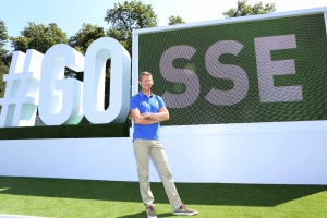 In pictures: SSE unveils selfie installation for Commonwealth Games