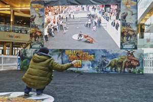 In pictures: Walking With Dinosaurs augmented reality experience hits Westfield Stratford