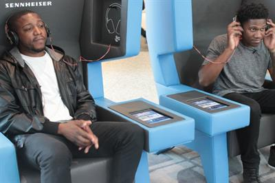 In pictures: Westfield partners with Sennheiser for music lounges