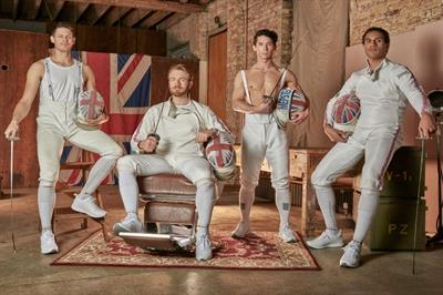 Wilkinson Sword devises fencing-themed takeover at Waterloo station