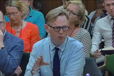 AA's Stephen Woodford faces fierce questions on junk food ads from Parliament