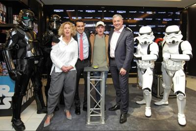 Disney and World Duty Free partner for Star Wars experience