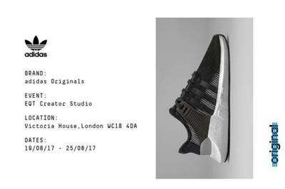 Adidas Originals hosts gig series for launch of EQT range