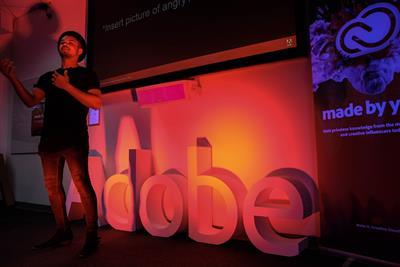 Adobe enlists help of influencers for university pop-ups