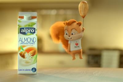 Alpro launches Almond Milk TV push