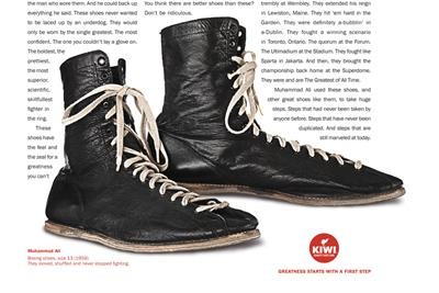 Story behind Muhammad Ali's shoes wins Ogilvy the Industry Craft Grand Prix at Cannes