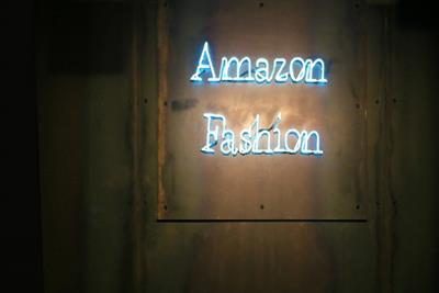 Amazon showcases fashion line with London pop-up